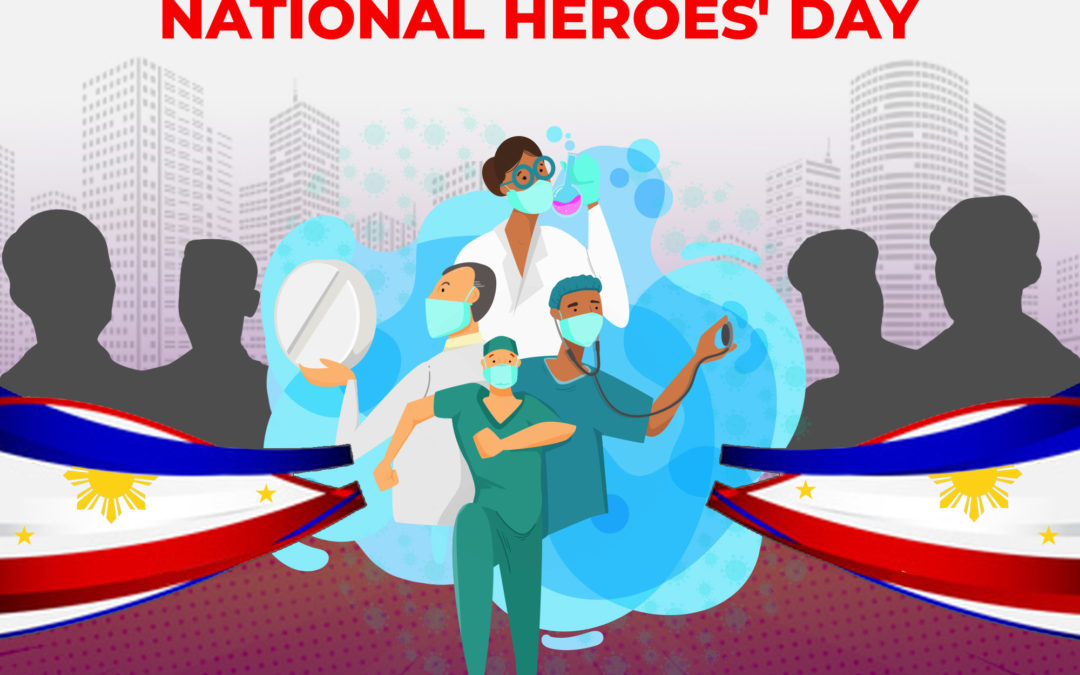 Our Salute to the National Heroes and to the Modern Day Heroes of our Country Today.