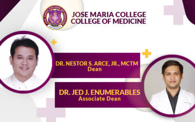 Jose Maria College of Medicine installs new deans for A.Y. 2021 – 2022